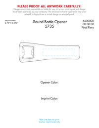 sound bottle opener. Black Bedroom Furniture Sets. Home Design Ideas
